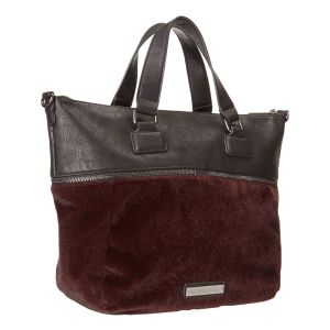 Bcbgeneration Landon Zipper Tribute Bag Dark Raspberry