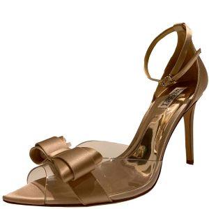 Badgley Mischka Lindsay Evening Pumps Pastel Pink 10M Affordable Designer Brands