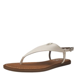 Circus by Sam Edelman Womens Carolina Thong Flat Sandals Bright White 9.5M from Affordable Designer Brands