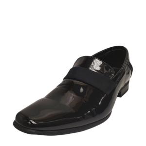 Calvin Klein Men's Bernard Formal Dress Patent Loafer 8D from Affordable Designer Brands