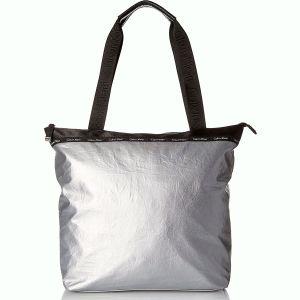 Calvin Klein Ripstop Nylon Tote Silver