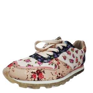 Coach Womens C118 MXM Floral Print  MX Fashion Sneakers Chalk Multi Bechwood 6.5 B from Affordable Designer Brands