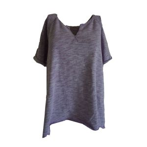 Calvin Klein Women's Cotton Pullover X-Large Purple  front from Affordable Designer Brands