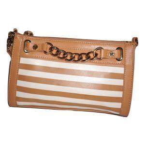 Emma Fox Hudson Leather Crossbody Handbag