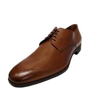 Boss by Hugo Boss Men's Kensington Derby Oxfords Medium Brown  9D from Affordable Designer Brands