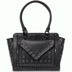 INC International Concepts Debie Tote Black Silver Affordabledesignerbrands.com