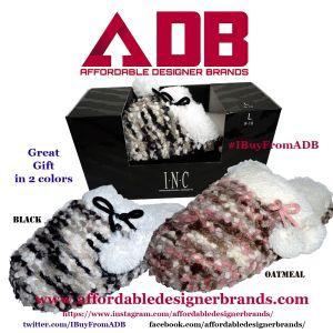 Inc International Concepts Popcorn Knit Clog Slippers