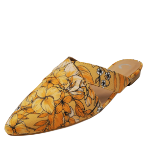 Journee Collection Womens Giada Mules Floral 11M from Affordable Designer Brands