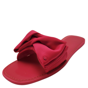 Kate Spade New York Women's Bikini Slide Sandals Satin Shocking Magenta 9B from Affordable Designer Brands