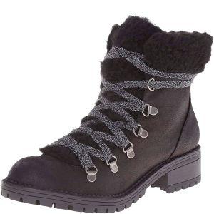 Madden Girl Bunt Cold Weather Hiker Bootie Black 7M Affordable Designer Brands