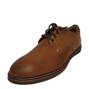 Nunn Bush Mens Ridgetop Dress Oxfords Leather Tan 10.5W from Affordable Designer Brands