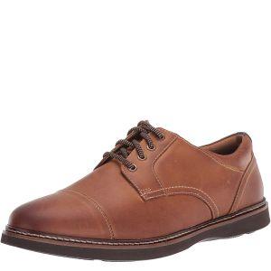 Nunn Bush Men's Ridgetop Cap-Toe Oxfords Leather Tan Brown 8.5M Affordable Designer Brands