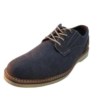 Nunn Bush Mens Barklay Canvas Oxfords Blue Denim 9.5 M US 8.5 UK 42.5 EU Affordable Designer Brands