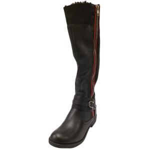 ZiGi Soho Women's Stephany Tall Riding Boot Black 8M from Affordable Designer Brands