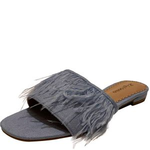 ZiGi Soho ZIGIny Taylah Flat Fabric Sandals Dark Blue 7M Affordable Designer Brands