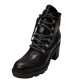 Mark Fisher Women's Kini Block Heel Leather Bootie 9M from Affordable Designer Brands