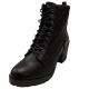 Zigi Soho Womens Moritz Ankle Boots Heels Lug Sole Black 10M from Affordable Designer Brands